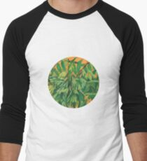 """Ash-tree"", green & yellow, floral art T-Shirt"