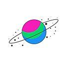 Polysexual Pride Planet by SavaMari