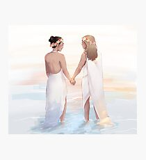 supercorp wedding Photographic Print