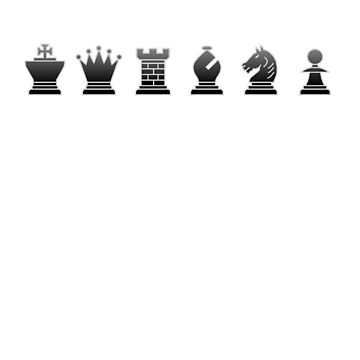 Chess - Black pieces by Rocky64