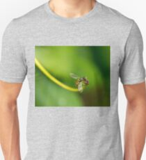 Hoverfly Visiting a Flower Unisex T-Shirt