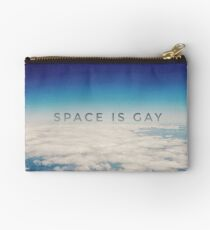 Space is Gay Studio Pouch