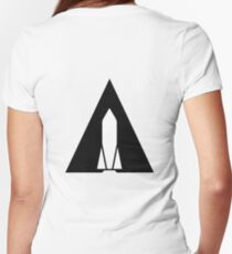 Rocket - A Women's Fitted V-Neck T-Shirt
