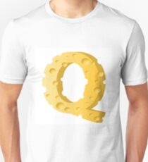 cheese letter Q T-Shirt