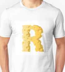 cheese letter R T-Shirt