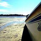 Boat on a Beach by Ben de Putron