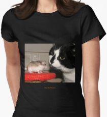 Best Of Friends Womens Fitted T-Shirt