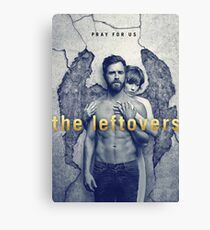The Leftovers Wall Canvas Print