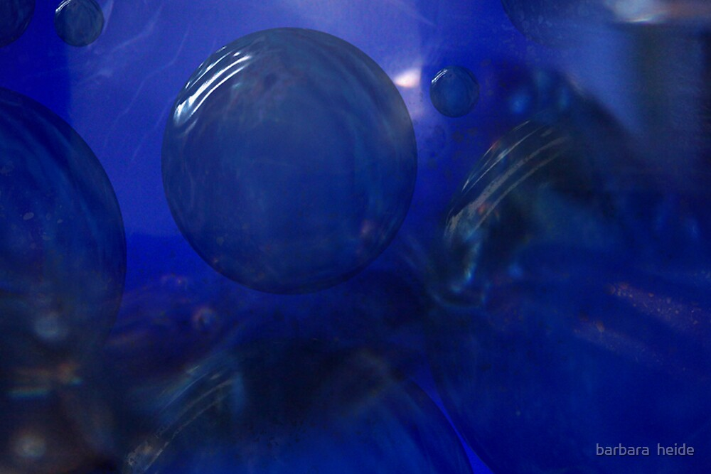 blue escape by barbara  heide