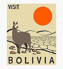 Bolivien Fotodruck