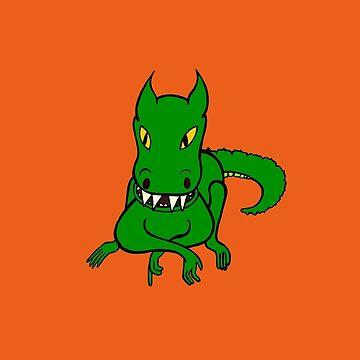 One Friendly Dragon by Munnaminx
