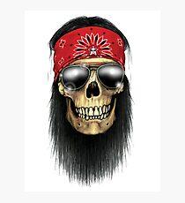 Rock Skull Photographic Print