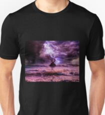 Lonely tree in the storm T-Shirt