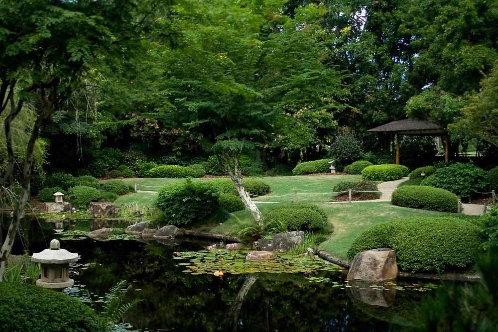 Japanese Garden by Luke Haggis