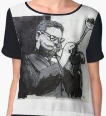 Dizzy Gillespie Study Chiffon Top