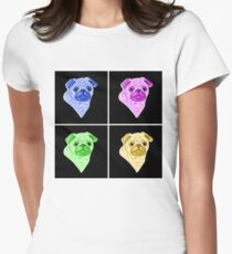 Pugly (Pop Art) Womens Fitted T-Shirt