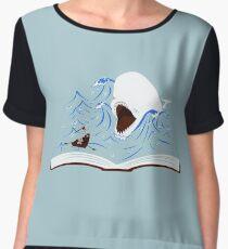 Moby Dick Women's Chiffon Top