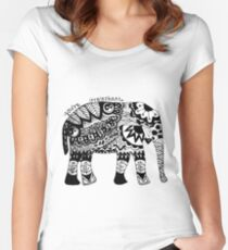 You're Irrelephant Women's Fitted Scoop T-Shirt