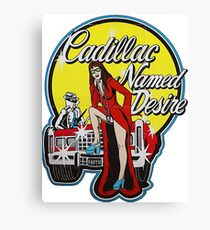 Cadillac Named Desire Canvas Print