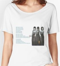 Sleeping Priestess Women's Relaxed Fit T-Shirt