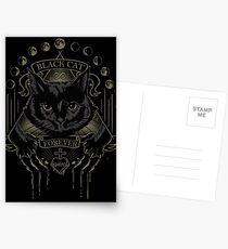 Black Cat Cult Postcards
