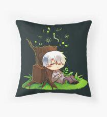 Resting Ginko Throw Pillow