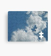 Piece of the Sky Canvas Print