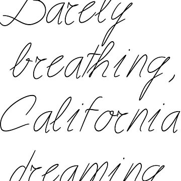 Cali dreaming by catherine17