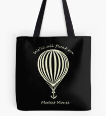 Modest Mouse Float on With Balloon Tote Bag