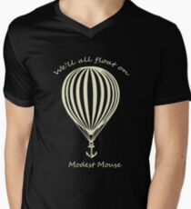 Modest Mouse Float on With Balloon Men's V-Neck T-Shirt
