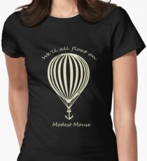 Modest Mouse Float on With Balloon Women's Fitted T-Shirt