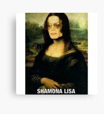 Shamona Lisa Canvas Print