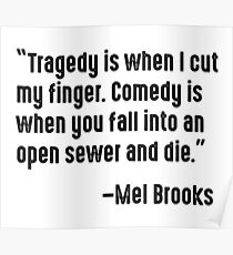 Mel Brooks on Tragedy and Comedy Poster