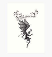 The Devil's Playthings Art Print