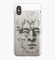 Leonardo da Vinci Head 2 iPhone Case/Skin