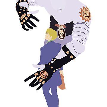 JoJo's Bizarre Adventure - Yoshikage Kira Killer Queen by SenorFiredude
