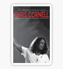 Chris Cornell Sticker