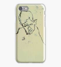 fara monotype - 2 minute portrait  iPhone Case/Skin
