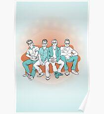 Saint Motel Fan Art Poster
