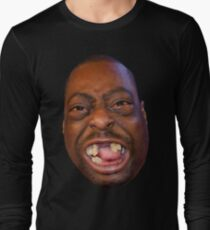 Beetlejuice Head Lester Green Stern Show Long Sleeve T-Shirt