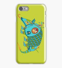 Armadillo, from the AlphaPod collection iPhone Case/Skin