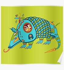 Armadillo, from the AlphaPod collection Poster