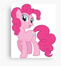 Pinkie Pie Sweet Canvas Print