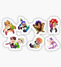 Pegatina Splatoon Sticker Set