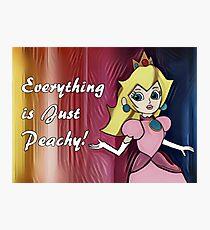 "Princess Peach ""Everything is Peachy"" Photographic Print"