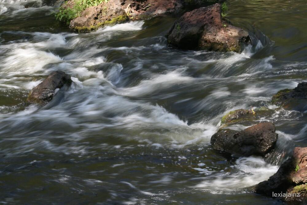 Rushing Rapids by lexiajainz