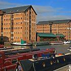 Britannia Warehouse and Docks, Gloucester by RedHillDigital