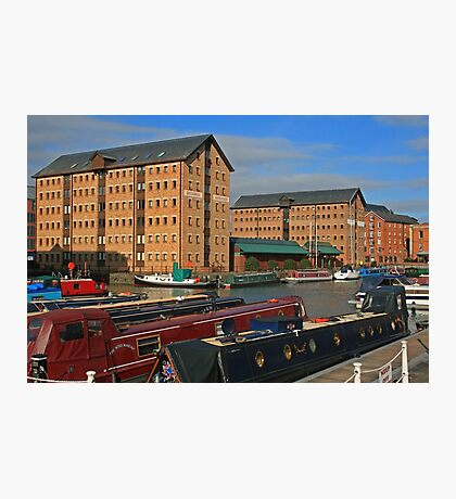 Britannia Warehouse and Docks, Gloucester Photographic Print