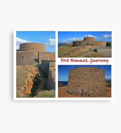 Fort Hommet, Guernsey Canvas Print