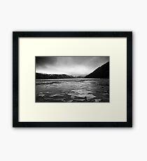 Icy Loch 5 Framed Print